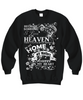 Image of Women and Men Tee Shirt T-Shirt Hoodie Sweatshirt Because Someone I Love is In Heaven There's a Little Bit of Heaven in My Home My Mother
