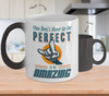 Image of Color Changing Mug Retro 80s 90s Nostalgic Keep Amazing