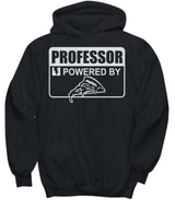 Women and Men Tee Shirt T-Shirt Hoodie Sweatshirt Professor Powered By Pizza