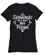 Women and Men Tee Shirt T-Shirt Hoodie Sweatshirt Diamonds Are A Girls Best Friend