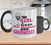 Image of Color Changing Mug Drinking Theme This Girl Loves Her Husband And Chardonnay