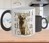 Color Changing Mug Animals You And I Are More Than A Friend