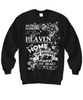 Image of Women and Men Tee Shirt T-Shirt Hoodie Sweatshirt Because Someone I Love is In Heaven There's a Little Bit of Heaven in My Home My Grandpa
