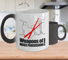Image of Color Changing Mug Music Theme Weapon Of Mass Percussion