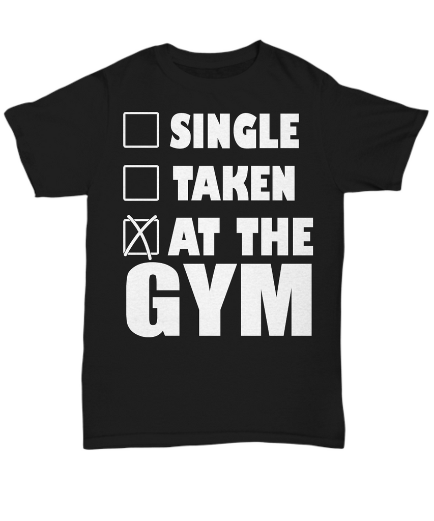 Women and Men Tee Shirt T-Shirt Hoodie Sweatshirt Single Taken At The Gym