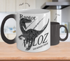 Image of Color Changing Mug Animals Raptor Veloz Your Midnight Terror