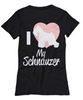 Image of Women and Men Tee Shirt T-Shirt Hoodie Sweatshirt I Love My Schnauzer