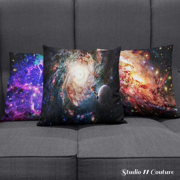 Astronomy Space Galaxy Pillow Case