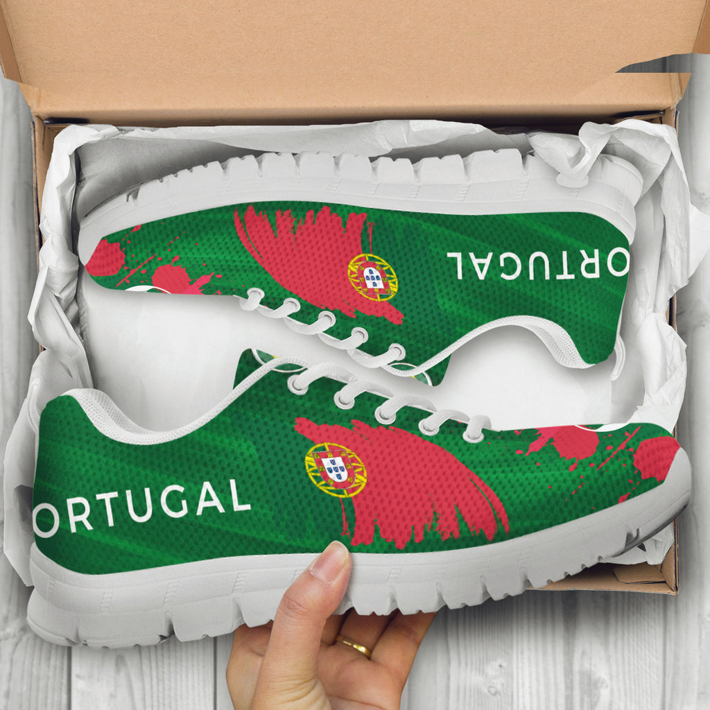 2018 FIFA World Cup Portugal Mens Athletic Sneakers - STUDIO 11 COUTURE