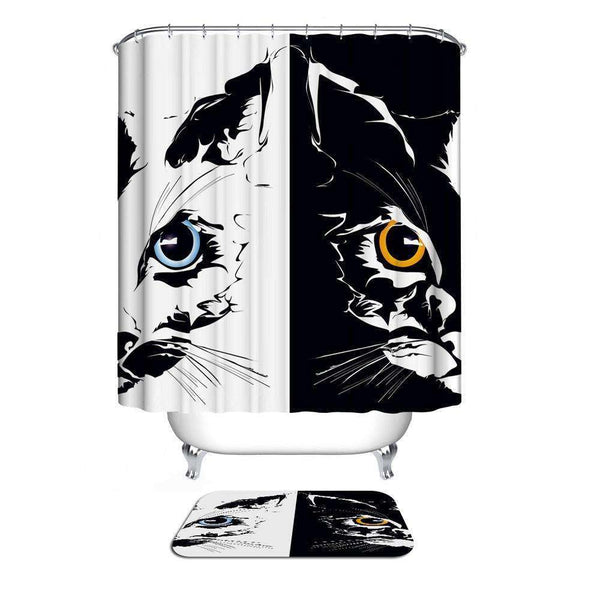 Home Collection Waterproof Bathroom Shower Curtain - STUDIO 11 COUTURE