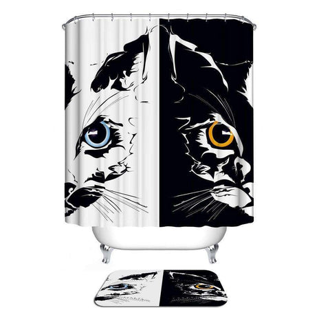 Home Collection Waterproof Bathroom Shower Curtain
