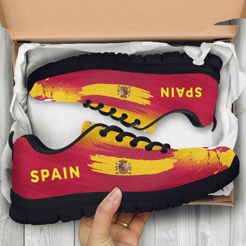 2018 FIFA World Cup Spain Kids Sneakers - STUDIO 11 COUTURE