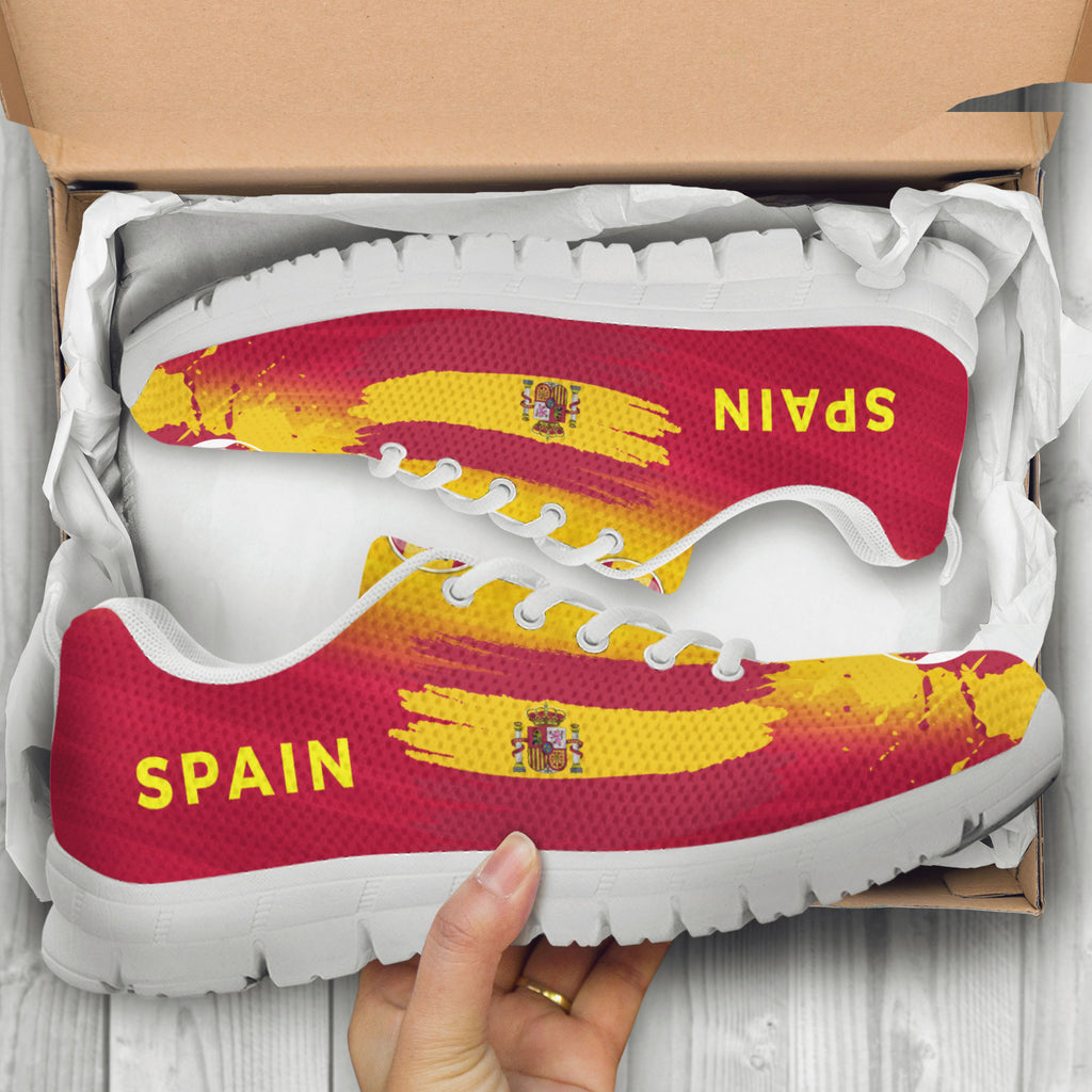 2018 FIFA World Cup Spain Womens Athletic Sneakers - STUDIO 11 COUTURE