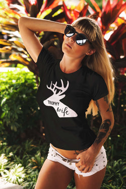Trophy Wife Ladies Tee - STUDIO 11 COUTURE