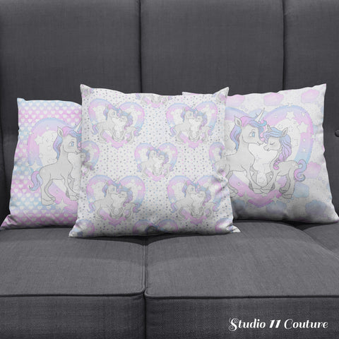 Unicorns Pillow Case - STUDIO 11 COUTURE