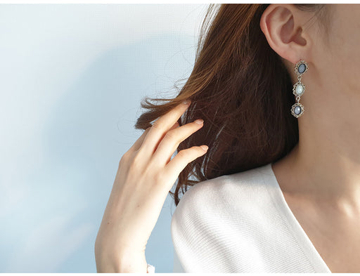 E-Antique & Pearl Earring (앤틱앤펄)