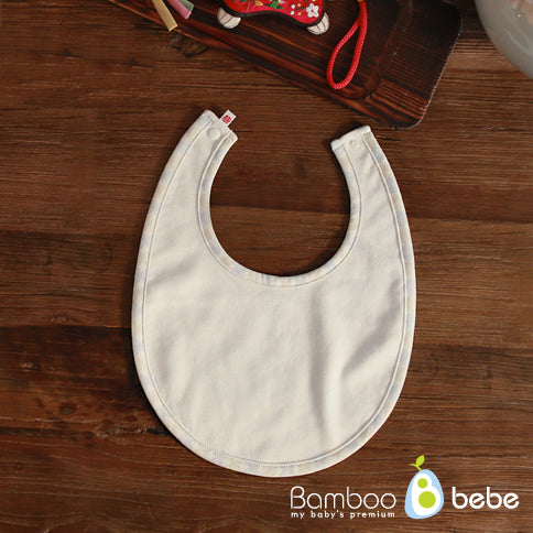 Bamboo Four Season Newborn Baby Drool Bib (Lucky Pattern) [순한대나무 아함아함 턱받이_길상문]