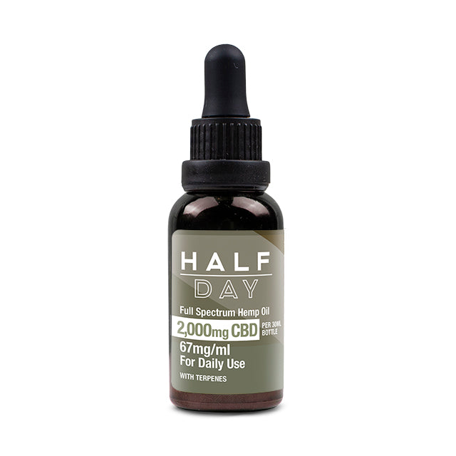 Full-spectrum CBD oil • 2000mg