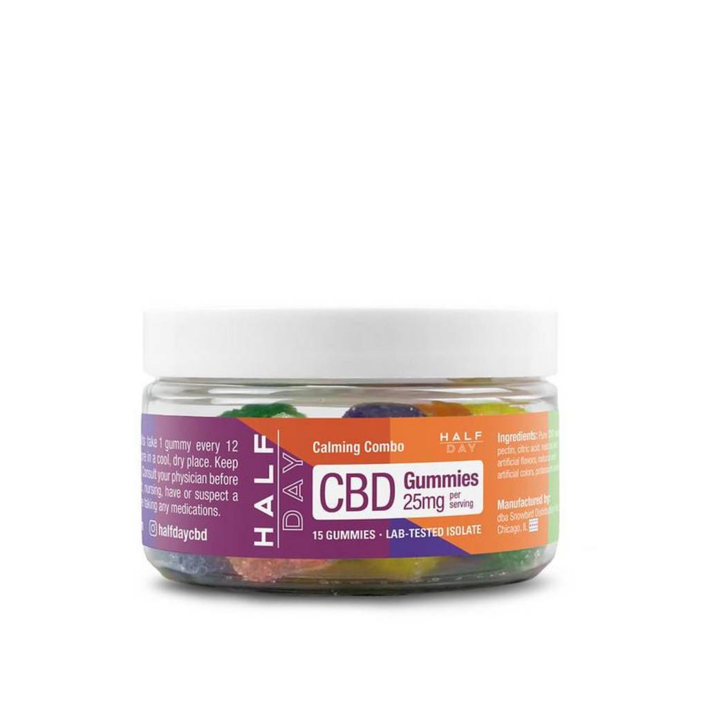 CBD Gummies - Combo Pack  - 15 count (25 mg/gummy)