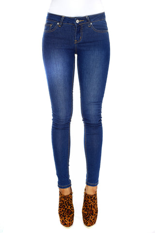 Essential Skinny Jeans - Blue