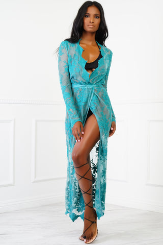 Satana Lace Cover Up Dress
