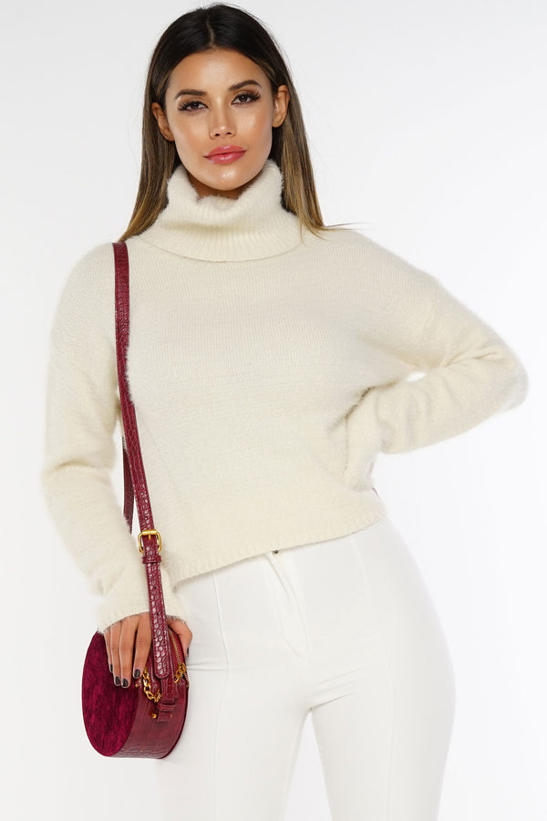 Soft Spoken Sweater - Ivory