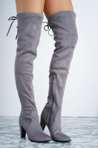 Jamie Boot - Grey - WantMyLook
