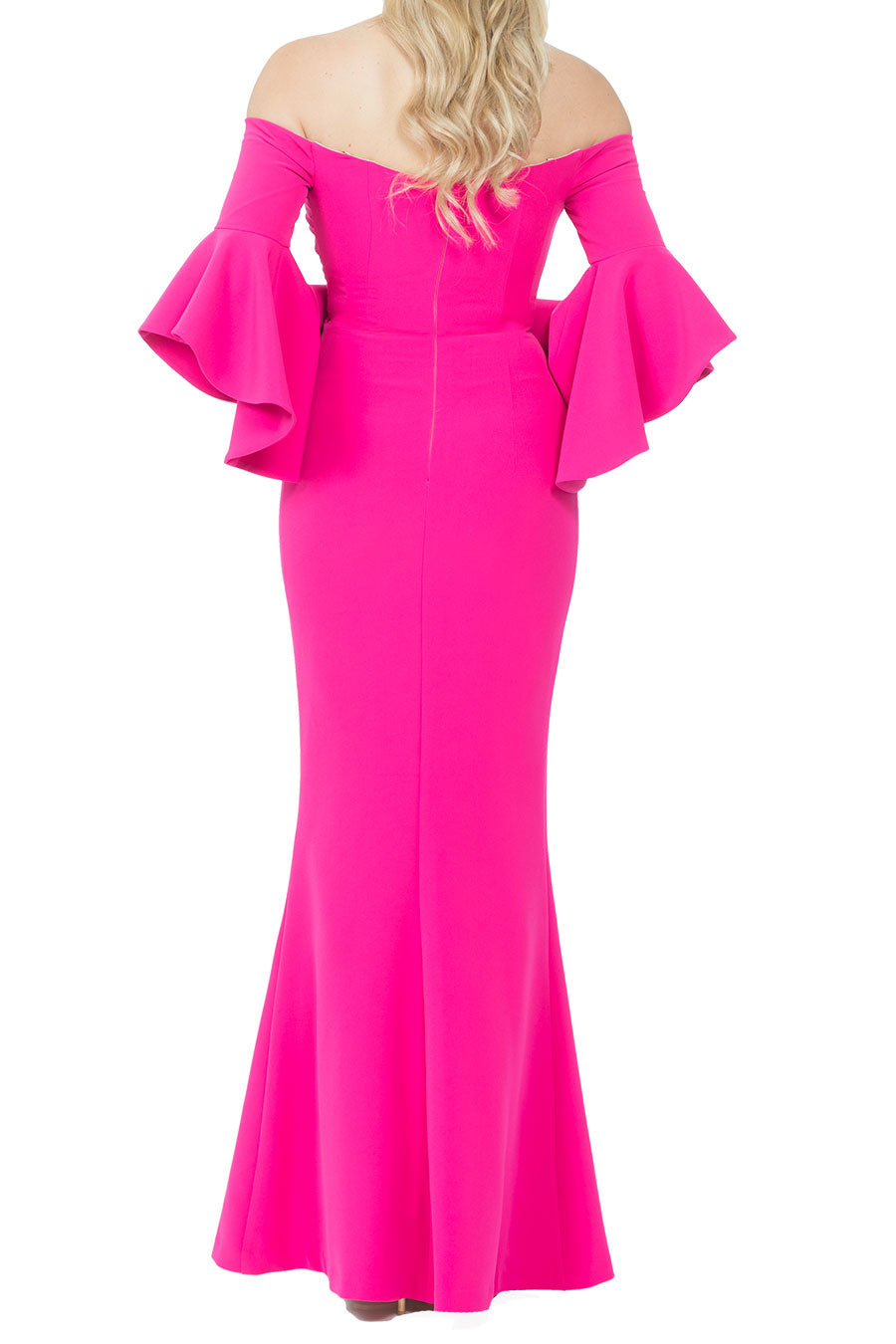 Lindsay Dress - Hot Pink – WANTMYLOOK