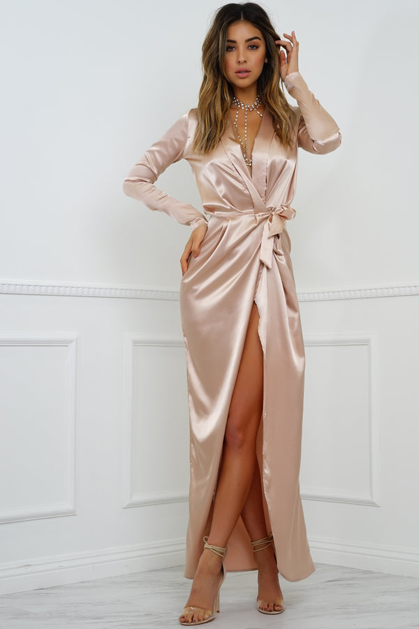 Ramona Dress - Champagne