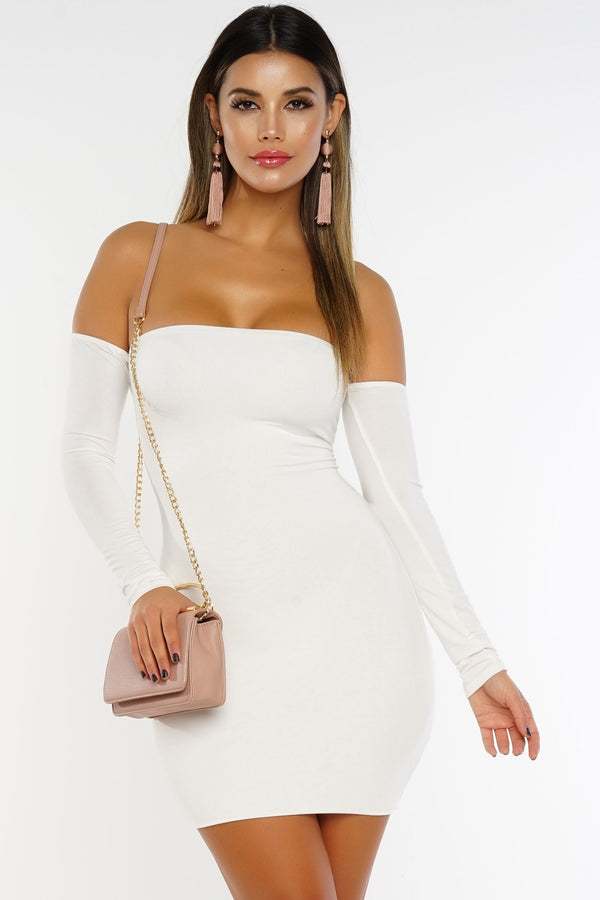 Teenage Fever Dress - White