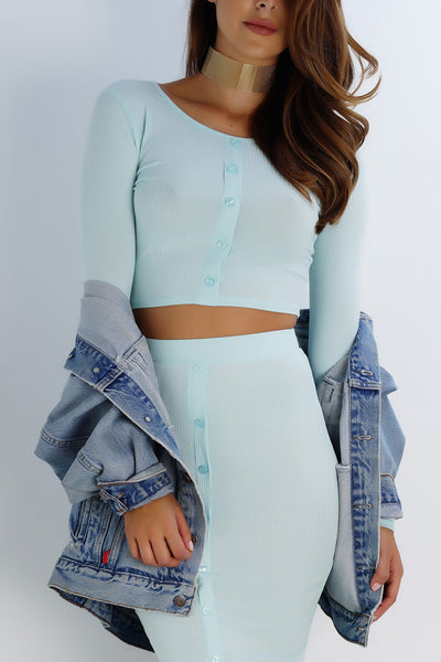 Lifeline Button Top - Blue