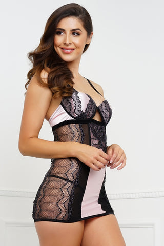 I'm Yours Chemise - Pink