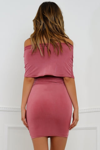 Santa Monica Dress - Marsala