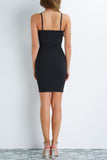 Magic Zipper Dress - Black
