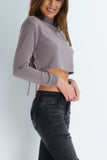 Tie Me Up Crop Top - Cocoa