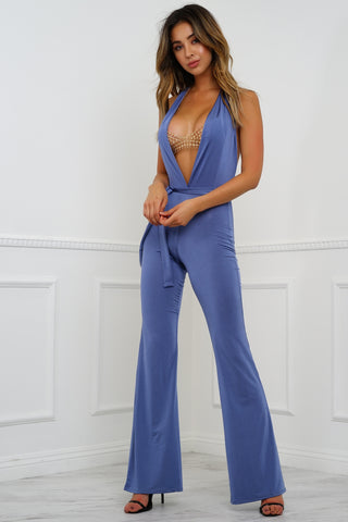 Nothings Into Somethings Jumpsuit - Blue