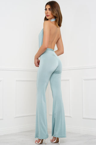 Nothings Into Somethings Jumpsuit - Mint