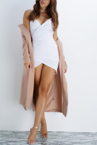 Alison Mini Dress - White - WantMyLook