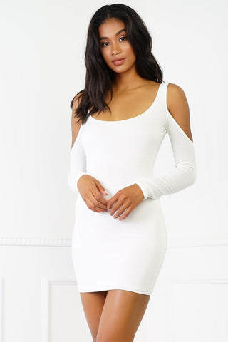 Elsie Dress - White