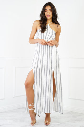 Noira Maxi Dress - White