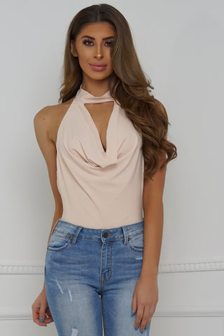 Romantic Ways Bodysuit - Blush