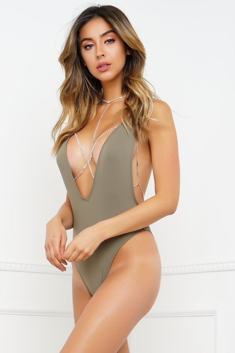 Redondo Beach Swimsuit - Taupe