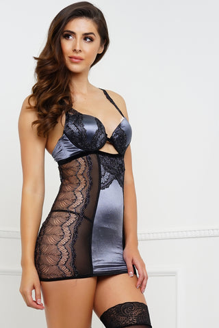 I'm Yours Chemise - Silver