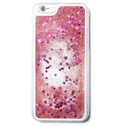 Pink Stars iPhone Case- iPhone 6