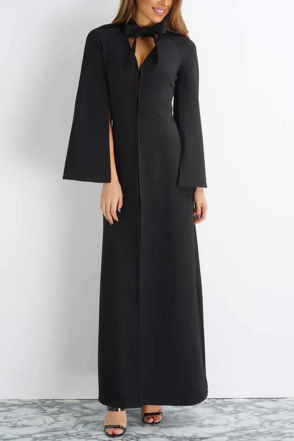 Chloe Coat Dress - Black