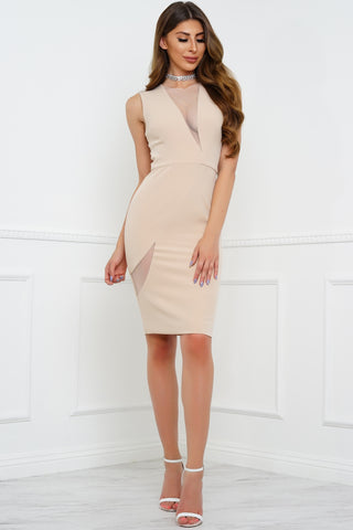 Alisha Dress - Nude