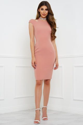Kinley Dress - Blush