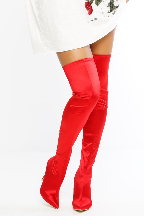 Rocket Boots - Red