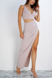 Lydia Dress - Mauve - WantMyLook