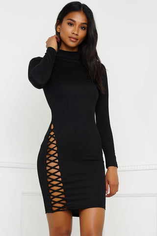 Eilish Dress - Black